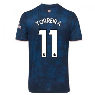 2020-2021 Arsenal Adidas Third Football Shirt (TORREIRA 11)