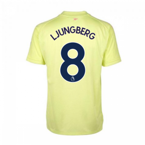 2020-2021 Arsenal Adidas Training Shirt (Yellow) (LJUNGBERG 8)