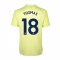2020-2021 Arsenal Adidas Training Shirt (Yellow) (THOMAS 18)