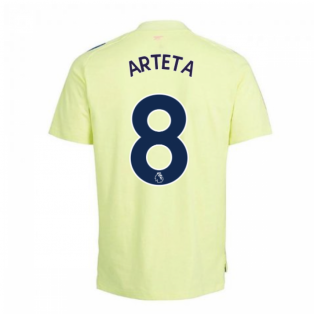 2020-2021 Arsenal Adidas Training Tee (Yellow) - Kids (ARTETA 8)