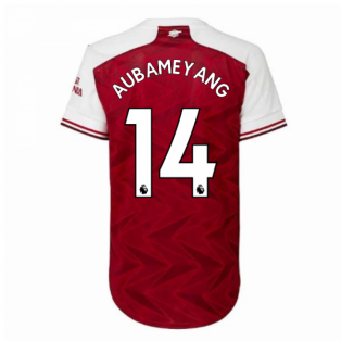 2020-2021 Arsenal Adidas Womens Home Shirt (AUBAMEYANG 14)