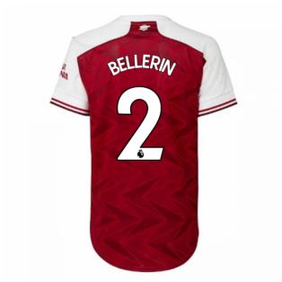2020-2021 Arsenal Adidas Womens Home Shirt (BELLERIN 2)