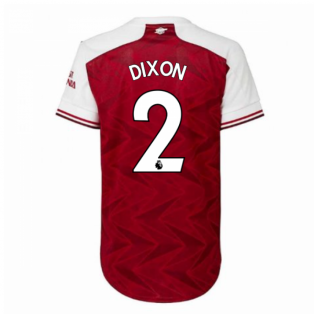 2020-2021 Arsenal Adidas Womens Home Shirt (DIXON 2)