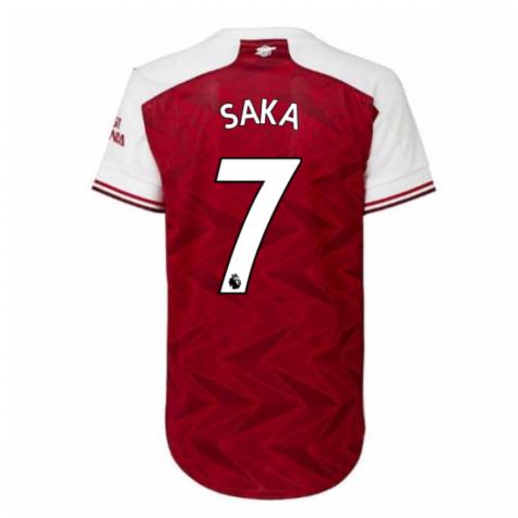 2020-2021 Arsenal Adidas Womens Home Shirt (SAKA 7)