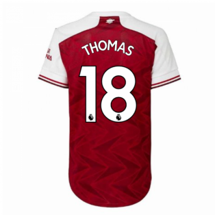 2020-2021 Arsenal Adidas Womens Home Shirt (THOMAS 18)