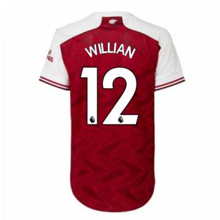 2020-2021 Arsenal Adidas Womens Home Shirt (WILLIAN 12)