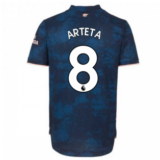 2020-2021 Arsenal Authentic Third Shirt (ARTETA 8)