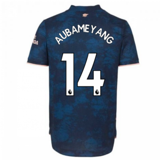2020-2021 Arsenal Authentic Third Shirt (AUBAMEYANG 14)