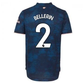 2020-2021 Arsenal Authentic Third Shirt (BELLERIN 2)