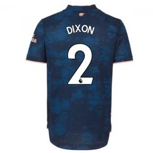 2020-2021 Arsenal Authentic Third Shirt (DIXON 2)