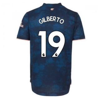 2020-2021 Arsenal Authentic Third Shirt (GILBERTO 19)