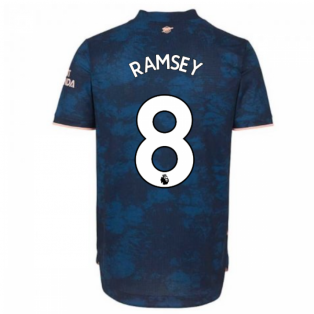 2020-2021 Arsenal Authentic Third Shirt (RAMSEY 8)