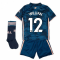 2020-2021 Arsenal Third Little Boys Mini Kit (WILLIAN 12)