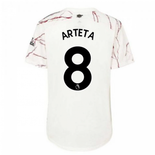 2020-2021 Arsenal Womens Away Shirt (ARTETA 8)