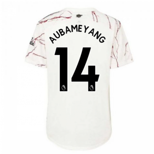 2020-2021 Arsenal Womens Away Shirt (AUBAMEYANG 14)