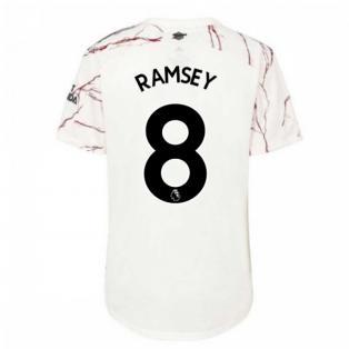 2020-2021 Arsenal Womens Away Shirt (RAMSEY 8)