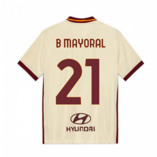 2020-2021 AS Roma Away Nike Football Shirt (Kids) (B MAYORAL 21)