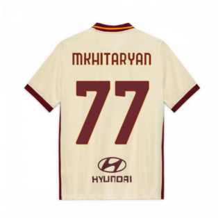 2020-2021 AS Roma Away Nike Football Shirt (Kids) (MKHITARYAN 77)
