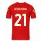 2020-2021 AS Roma Nike Training Shirt (Red) (B MAYORAL 21)