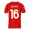 2020-2021 AS Roma Nike Training Shirt (Red) (DE ROSSI 16)
