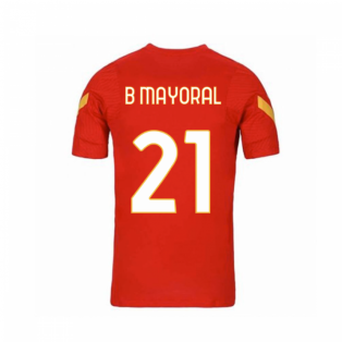 2020-2021 AS Roma Nike Training Shirt (Red) - Kids (B MAYORAL 21)