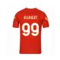 2020-2021 AS Roma Nike Training Shirt (Red) - Kids (KLUIVERT 99)