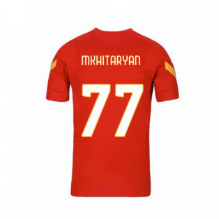 2020-2021 AS Roma Nike Training Shirt (Red) - Kids (MKHITARYAN 77)