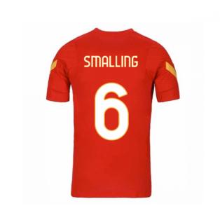 2020-2021 AS Roma Nike Training Shirt (Red) - Kids (SMALLING 6)
