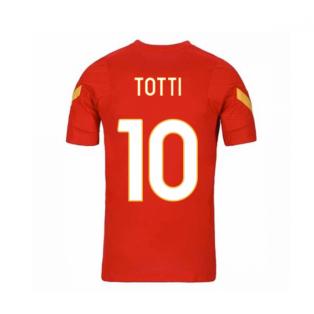 2020-2021 AS Roma Nike Training Shirt (Red) - Kids (TOTTI 10)