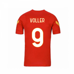 2020-2021 AS Roma Nike Training Shirt (Red) - Kids (VOLLER 9)