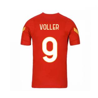 2020-2021 AS Roma Nike Training Shirt (Red) - Kids (VOLLER 9)
