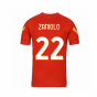 2020-2021 AS Roma Nike Training Shirt (Red) - Kids (ZANIOLO 22)