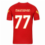 2020-2021 AS Roma Nike Training Shirt (Red) (MKHITARYAN 77)