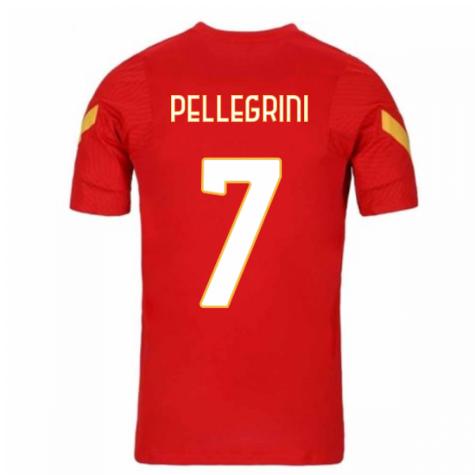 2020-2021 AS Roma Nike Training Shirt (Red) (PELLEGRINI 7)