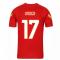 2020-2021 AS Roma Nike Training Shirt (Red) (UNDER 17)