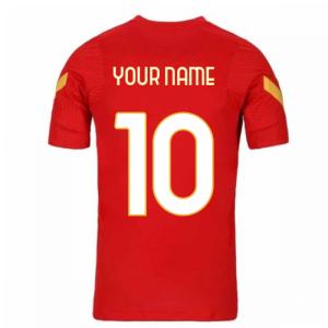 2020-2021 AS Roma Nike Training Shirt (Red)