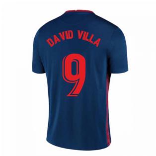 2020-2021 Atletico Madrid Away Nike Shirt (Kids) (DAVID VILLA 9)