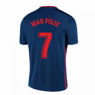 2020-2021 Atletico Madrid Away Nike Shirt (Kids) (JOAO FELIX 7)