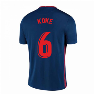 2020-2021 Atletico Madrid Away Nike Shirt (Kids) (KOKE 6)