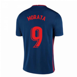 2020-2021 Atletico Madrid Away Nike Shirt (Kids) (MORATA 9)