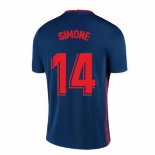 2020-2021 Atletico Madrid Away Nike Shirt (Kids) (SIMONE 14)