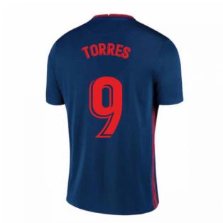 2020-2021 Atletico Madrid Away Nike Shirt (Kids) (TORRES 9)