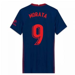 2020-2021 Atletico Madrid Away Nike Shirt (Ladies) (MORATA 9)