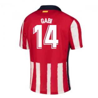 2020-2021 Atletico Madrid Home Nike Shirt (Kids) (GABI 14)
