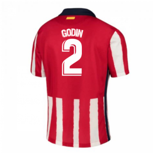2020-2021 Atletico Madrid Home Nike Shirt (Kids) (GODIN 2)