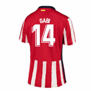 2020-2021 Atletico Madrid Home Nike Shirt (Ladies) (GABI 14)