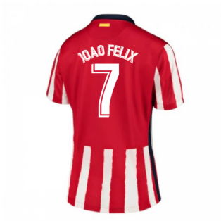 2020-2021 Atletico Madrid Home Nike Shirt (Ladies) (JOAO FELIX 7)
