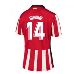 2020-2021 Atletico Madrid Home Nike Shirt (Ladies) (SIMONE 14)