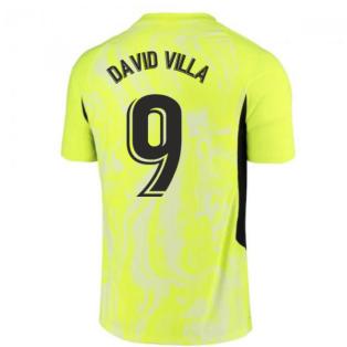 2020-2021 Atletico Madrid Vapor Third Shirt (DAVID VILLA 9)