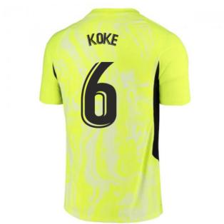 2020-2021 Atletico Madrid Vapor Third Shirt (KOKE 6)